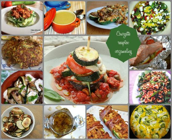 courgette-recepten-collage