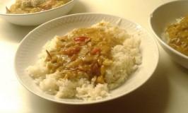 Curry met Kip (van de Bouillon)