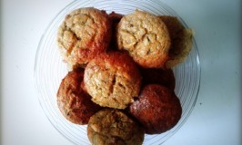 muffins met courgette