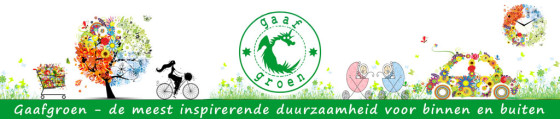 Gaaf Groen beurs banner