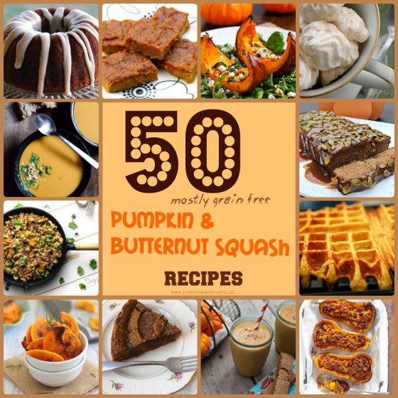 Collage Pumpkin & Butternut Squash recipes
