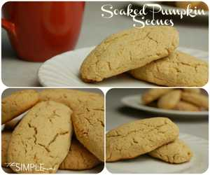 soaked pumpkin scones