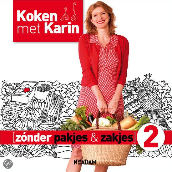 Winnaar Giveaway 'Koken met Karin Zonder Pakjes en Zakjes 2'