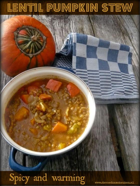 Lentil Pumkin Stew