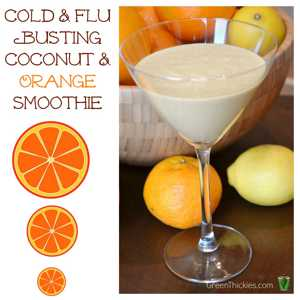 Cold-and-Flu-Busting-Coconut-and-Orange-Smoothie