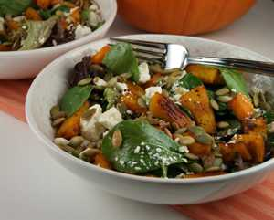 Maple-Roasted-Pumpkin-Salad