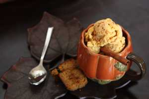 vegan pumpkin spiced ice cream
