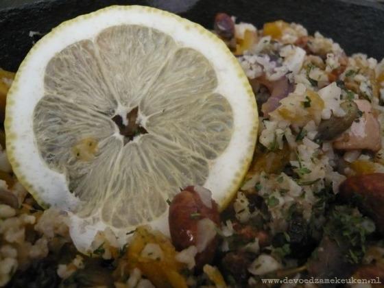 pompoen couscous citroen