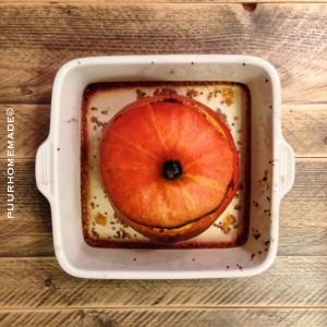 pompoen gevuld rode quinoa