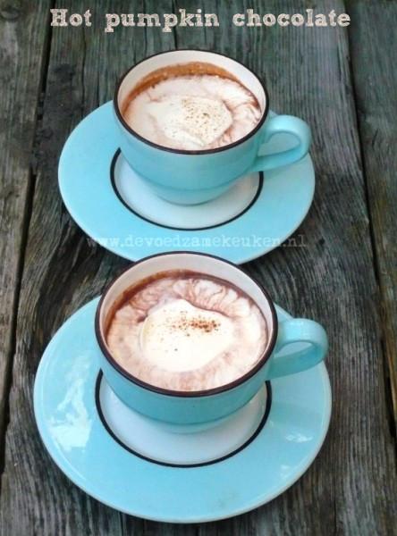 Hot Pumpkin Chocolat | Warme Chocolademelk met pompoen