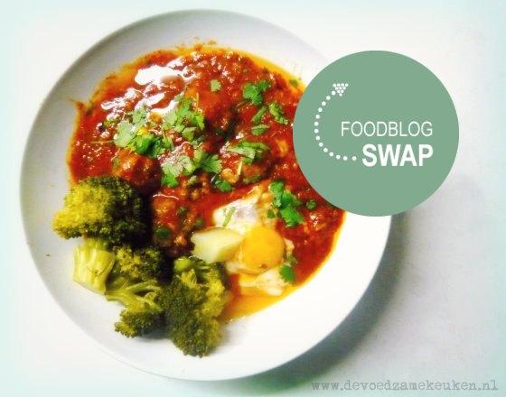 Kefta Foodblogswap met logo