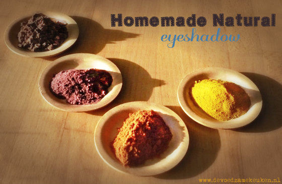 Homemade Natural Eyeshadow | Natuurlijke zelfgemaakte oogschaduw