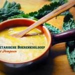 Vegetarian Pumpkin and Kale Soup