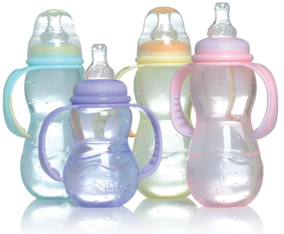 BPA-free babyflessen