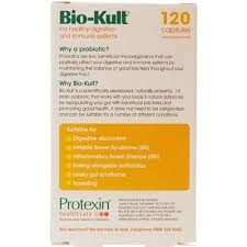 probiotica Bio-Kult achterkant verpakking darmflora herstellen
