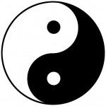 Yin Yang - Symbol knoflook is yang