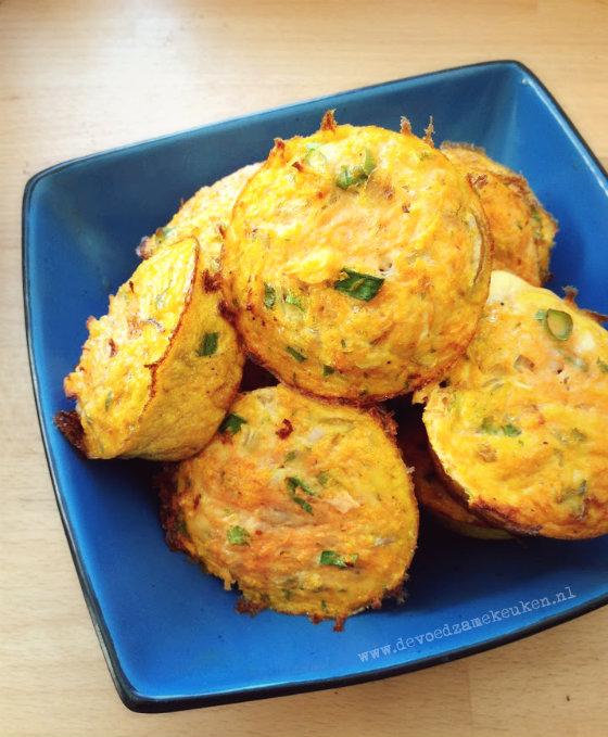 hartige muffins - ontbijtrecepten