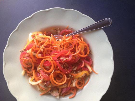 Meer doen met de Spirali 3 in 1 Snijder: Bietensalade