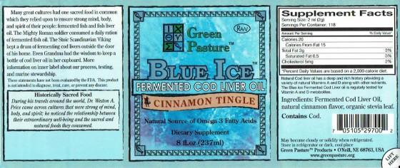 Label Green Pasture FCLO