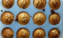 Muffins van Geweekt Meel