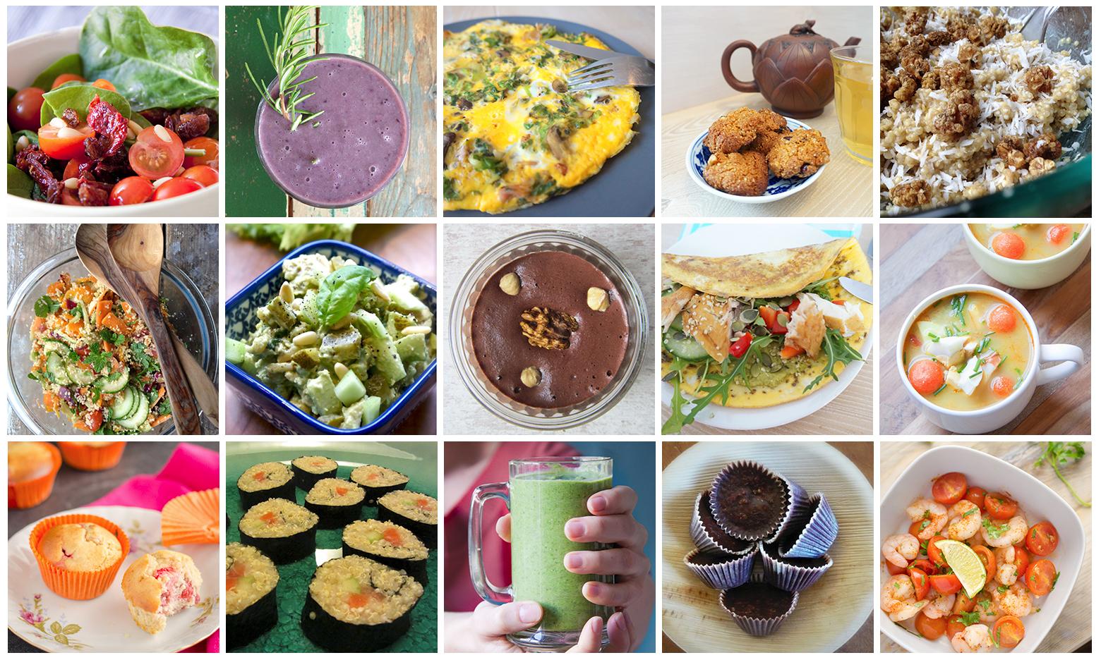 lekker eten en gezond afvallen